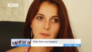 Fragebogen Alida Vracic aus Bosnien-Herzegowina   Global 3000