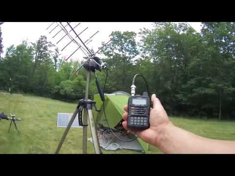 Solar Powered Ham Radio Station For Field Day