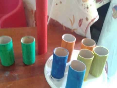 Comment faire un cadre cadeaux en carton recycl pour - Fabriquer un chandelier en carton ...