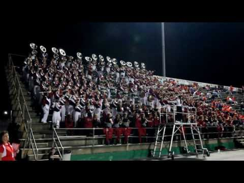 """""""The Big Red Machine"""" in the stands at Choctawhatchee Senior High School 10-12-12 (Part 4)"""