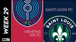 Memphis 901 FC Vs. Saint Louis FC September 21 2019