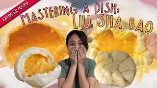 We Tried Making Liu Sha Bao   Eatbook Cooks   EP 41