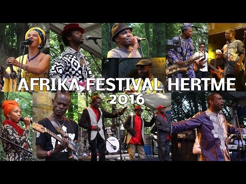 AFRIKA FESTIVAL HERTME 2016 - ONE song OF EACH artist