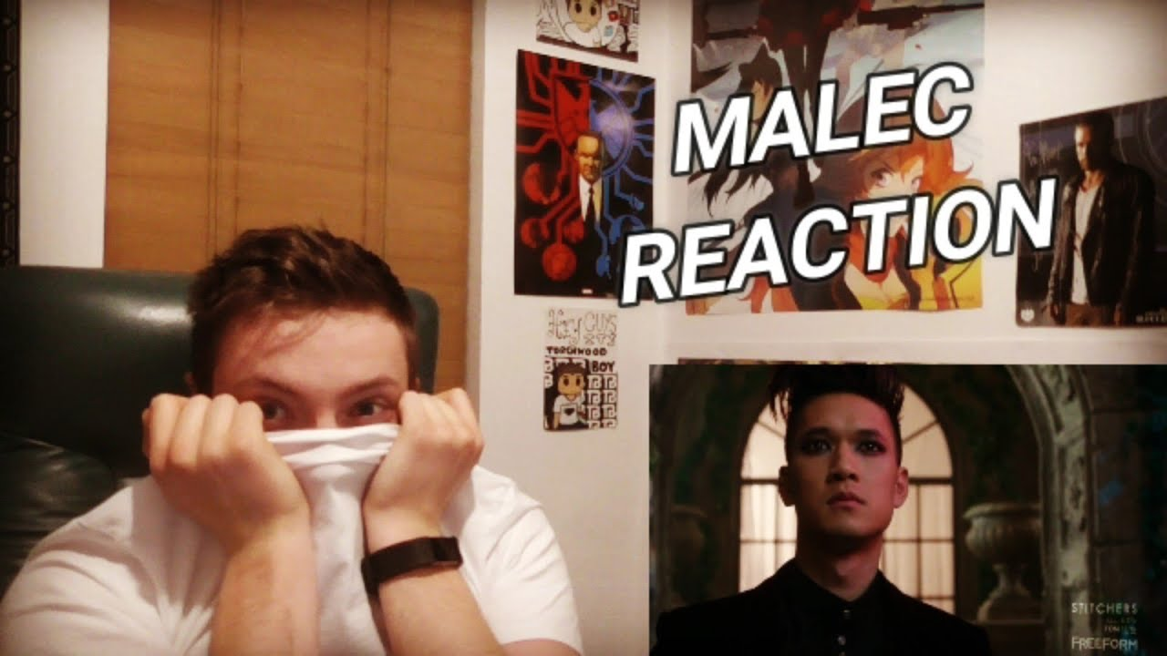 Download SHADOWHUNTERS - 1X12 MALEC REACTION