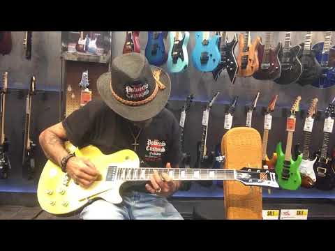 GUITAR CENTER''INTRO PART # 2 POWERS CUSTOMS GUITARS, GOLD SERIES PC-2