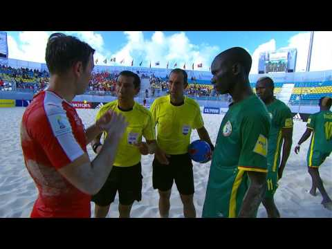 Match 18: Switzerland v Senegal - FIFA Beach Soccer World Cup 2017