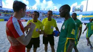 Match 18: Switzerland v Senegal - FIFA Beach Soccer World Cup 2017