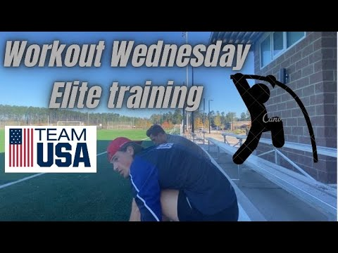Fall Training | Track And Field (Sprints, Pole Vault, Javelin, Tempo)