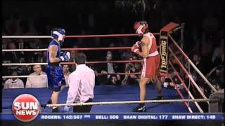 Justin Trudeau -- Patrick Brazeau Charity Boxing Match -- English Coverage of Complete Fight
