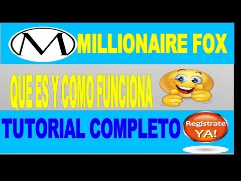 MILLIONARIE FOX | 2 $ DIARIOS PAYPAL | 1000 TOKEN GRATIS