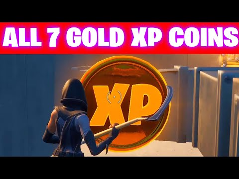 All GOLD XP COINS LOCATIONS IN FORTNITE SEASON 5 Chapter 2 (WEEK7-13)
