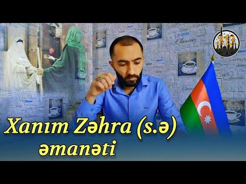 Xanım Zəhra (s.ə) əmanəti | yeni şeir 2021 | Fərid Səfərov (hicabli xanimlara hesr olunur)