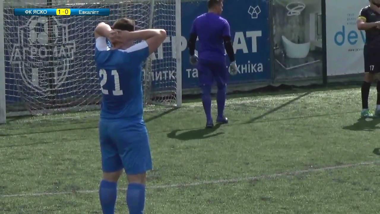 Огляд матчу | ФК Яско (Вінниця) 5 : 0 Евкаліпт
