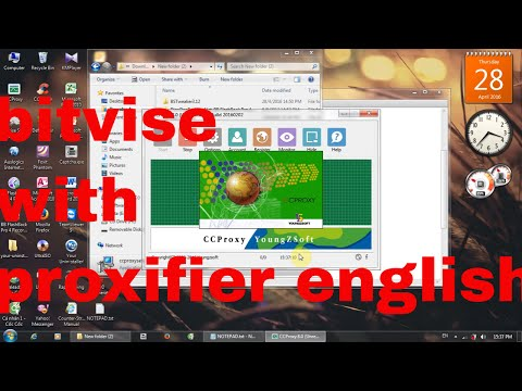 how to install ccproxy . bitvise ssh client . proxifier fake ip
