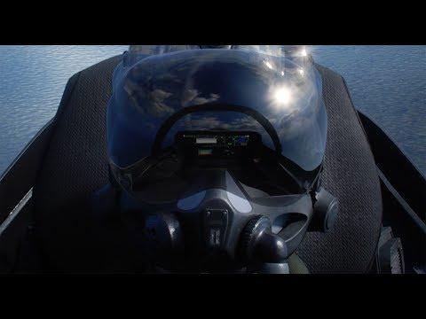 Amazing technology in the F-35 pilot helmet