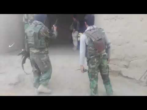 Afghan Army searching operation 2017