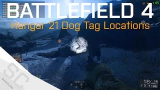 All Known Phantom Dog Tag Locations - Hangar 21 Final Stand - Bf4