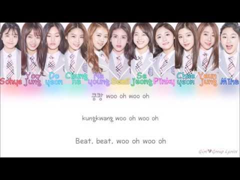 I O I 아이오아이 Produce 101   Crush Color Coded Lyrics ENGROMHAN