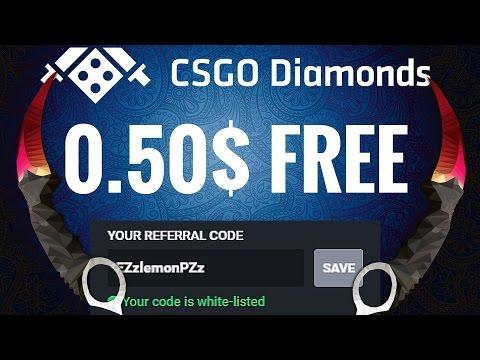 CSGO Diamonds Referral Code - New CSGO Betting Site!