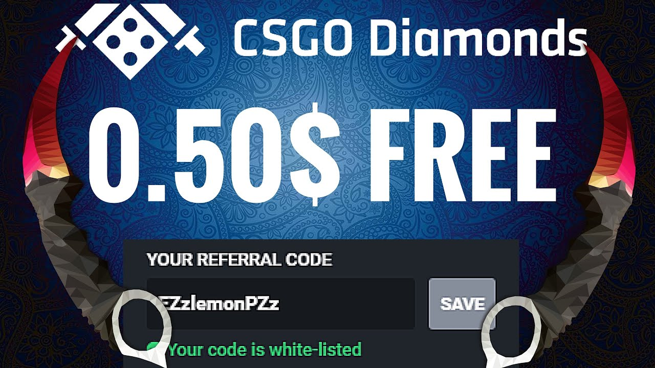 cs go diamonds code