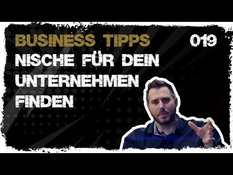 business tipps #019: Finde die Nische für dein Unternehmen