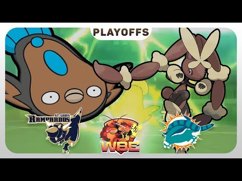 NOT AGAIN! | St. Louis Rampardos VS Miami Donphans WBE Playoffs  | Pokemon Sun Moon