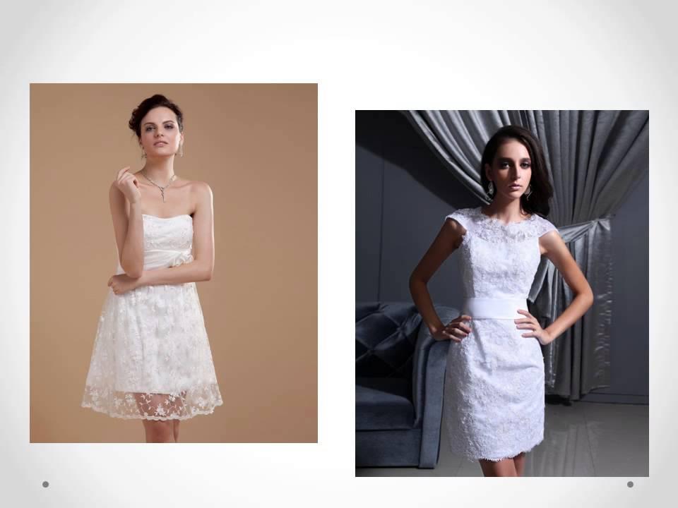 Nouveautés robes de mariée courtes ! Bridal collection Eté 2014 de ...