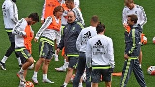 Real Madrid Training Melbourne Aami Park