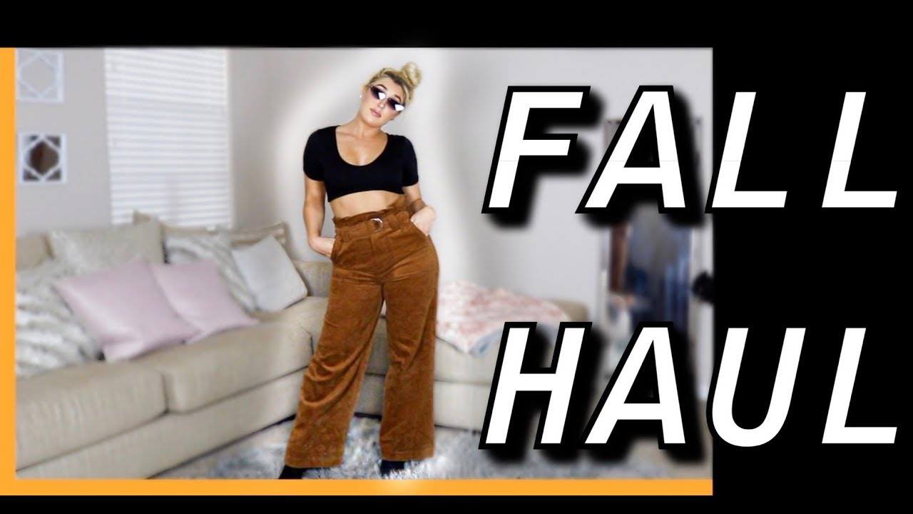 [VIDEO] - FALL TRY ON HAUL!!! 20 OUTFIT IDEAS ($500 WORTH OF CLOTHING) 1