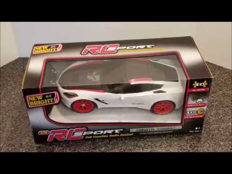 New Bright RC Sport 1:16 Corvette Stingray