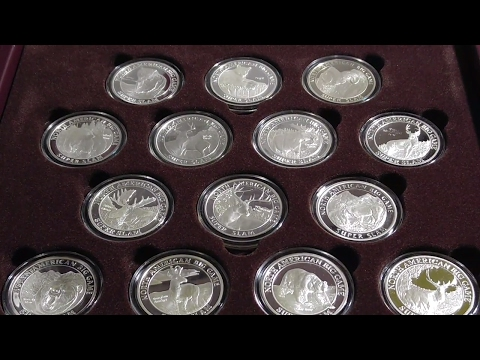 The super Slam Silver Proof Round