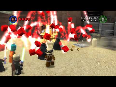 Lego Star Wars 100% - Lotus Prince Presents