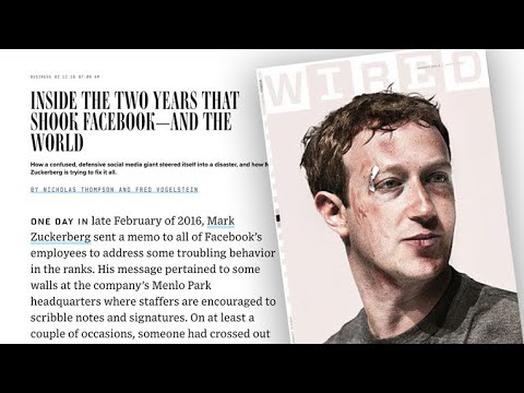 """Wired"" reports on Facebook's internal struggles"
