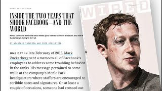 """Wired"" reports on Facebook"