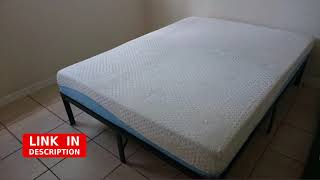 Olee Sleep Aquarius 10-Inch Memory Foam Mattress in Blue, Queen review