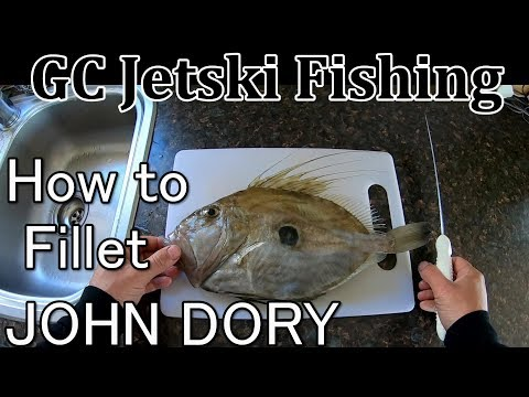 How To Fillet A John Dory Tutorial