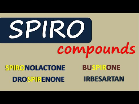 Spiro Compounds | Drugs With Spiro Linkage