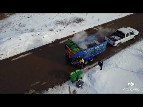 DJI mavic pro active track, Wheelie bin cleaning trailer