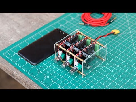 DIY 300 Watt 5.1 Audio Amplifier