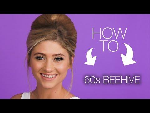 HOW TO | 60s Beehive Hair Look | Superdrug