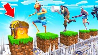99% UNMÖGLICHER Minecraft Deathrun in FORTNITE!