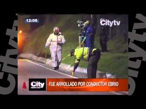 Motociclista perdió la vida en la Calera - Bogotá | Citytv | Marzo 3