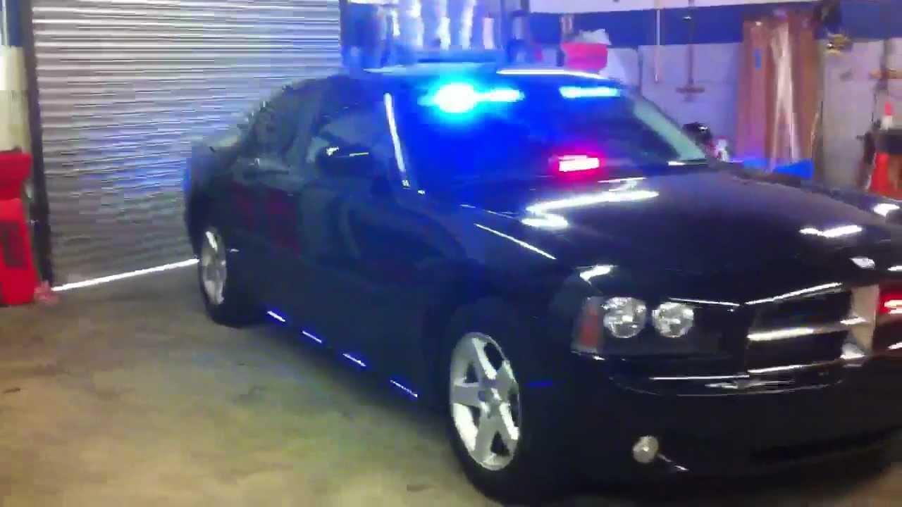 HG2 Emergency Lighting 2010 Dodge Charger Belle Isle Police YouTube