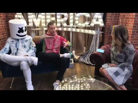 marshmello & dan bastille gma interview