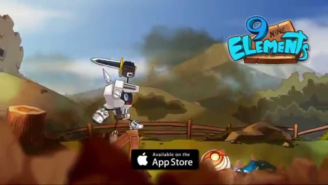 9 Elements : Action fight ball !! promotion video
