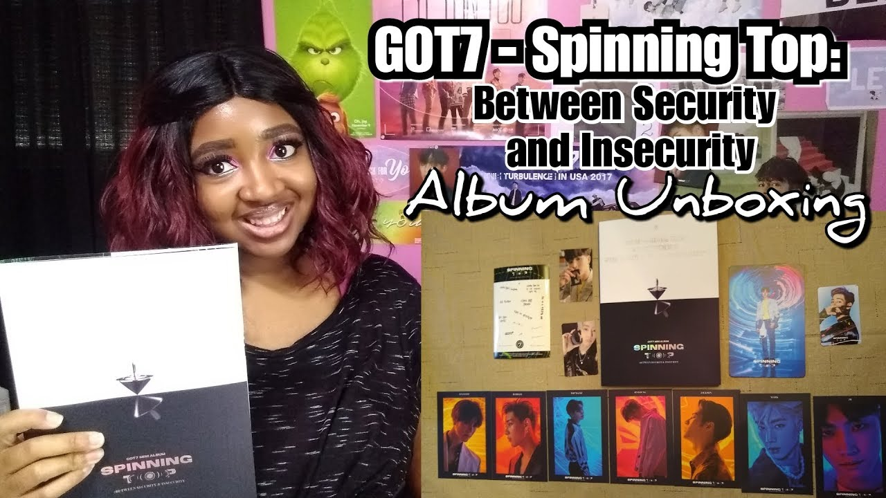GOT7 - Spinning Top: Between Security and Insecurity Album Unboxing | And &  Version