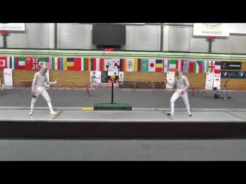 2017 Warsaw Men Sabre Team World Cup Final ITALY vs ROMANIA