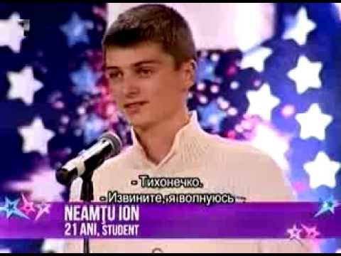 Moldova Are Talent  Ion Neamtu 01.11.13