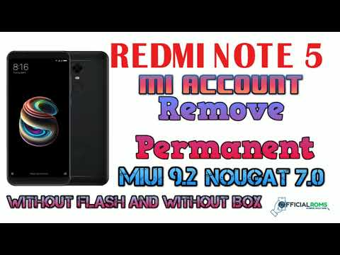 MI MAX 2 MDE40 MI Account Remove MIUI 10 Without Any Box 2019