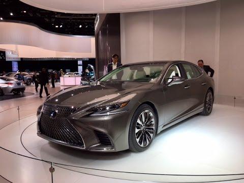 2018 Lexus LS500 Redline First Look 2017 NAIAS
